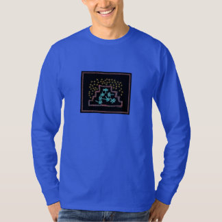 Dragonflies playing on a Mountain Under the Stars T-Shirt