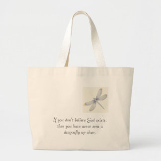 Dragonflies_Print_C12047134%5B1%5D, If you don'... Large Tote Bag