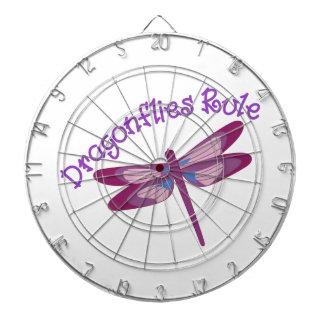 Dragonflies Rule Dartboards