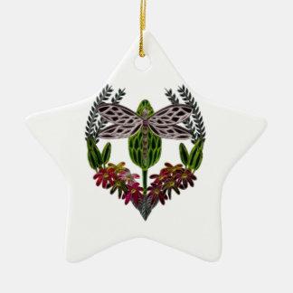 Dragonfly 1 ceramic ornament
