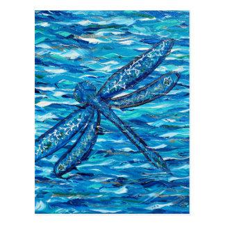 Dragonfly 2 postcard