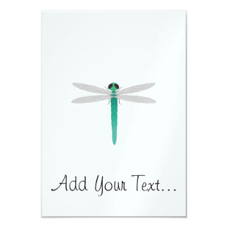 "Dragonfly 3.5"" X 5"" Invitation Card"