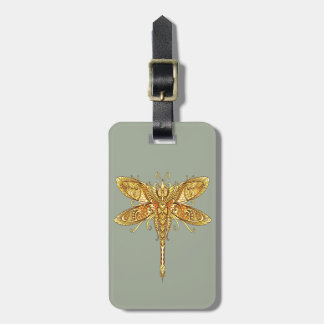 Dragonfly 3 luggage tag
