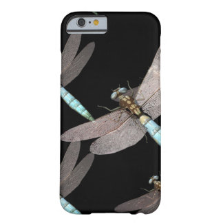 Dragonfly Air Force on Black Barely There iPhone 6 Case