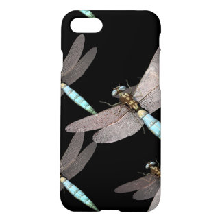 Dragonfly Air Force on Black iPhone 8/7 Case