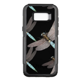 Dragonfly Air Force on Black OtterBox Commuter Samsung Galaxy S8+ Case