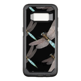 Dragonfly Air Force on Black OtterBox Commuter Samsung Galaxy S8 Case