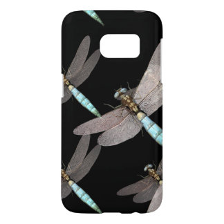 Dragonfly Air Force on Black Samsung Galaxy S7 Case