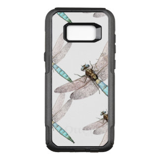Dragonfly Air Force on White OtterBox Commuter Samsung Galaxy S8+ Case