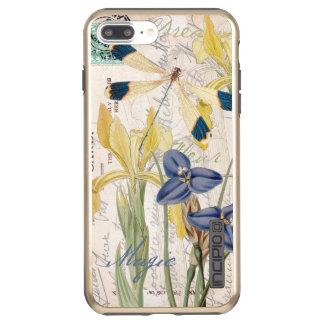 Dragonfly and Irises Incipio DualPro Shine iPhone 8 Plus/7 Plus Case