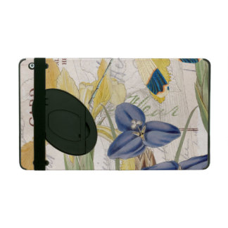 Dragonfly and Irises iPad Folio Case