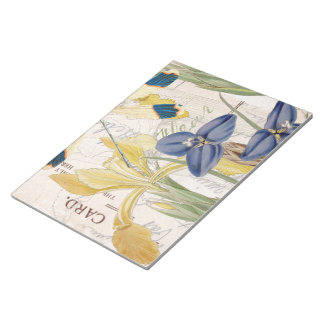 Dragonfly and Irises Notepad