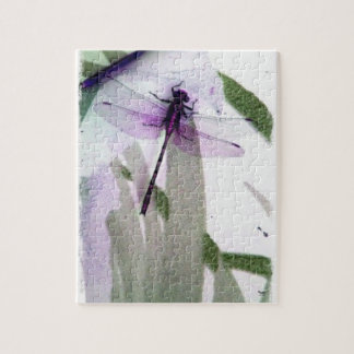 Dragonfly Art Jigsaw Puzzle