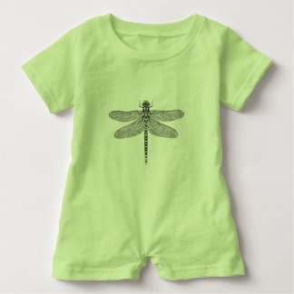 Dragonfly baby romper