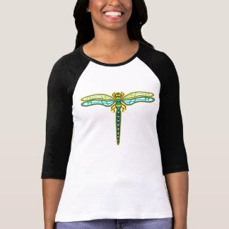 Dragonfly Baseball Shirt, Women Tshirts