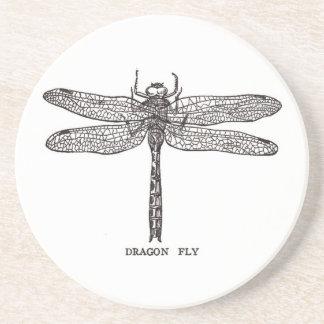 Dragonfly Beverage Coasters