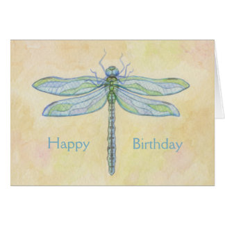 Dragonfly Birthday card