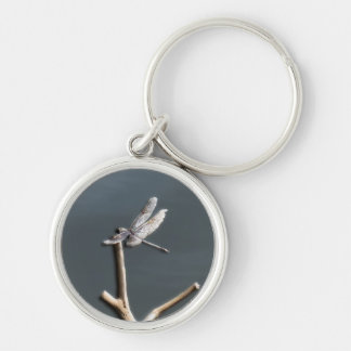 Dragonfly by the Lake Keychain