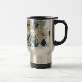 Dragonfly Chic Travel Mug