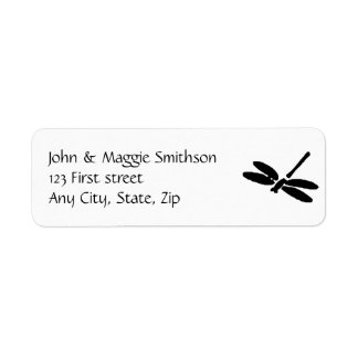 Dragonfly Custom Label Return Address Label