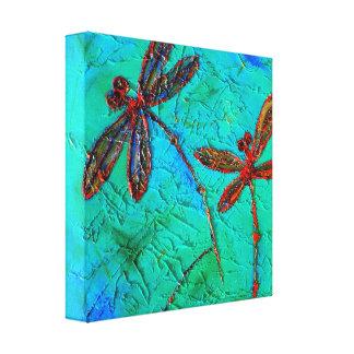 Dragonfly Dance, Canvas Print