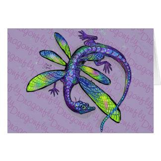 Dragonfly Dragon Card
