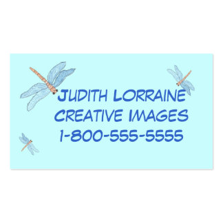 dragonfly dreams business card template