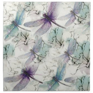 Dragonfly Dreams Cloth Dinner Napkins