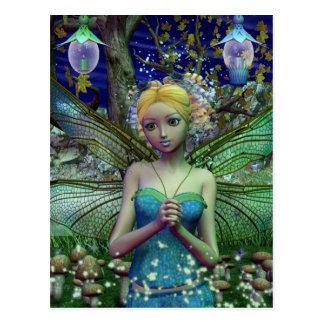 Dragonfly Dusting Postcard