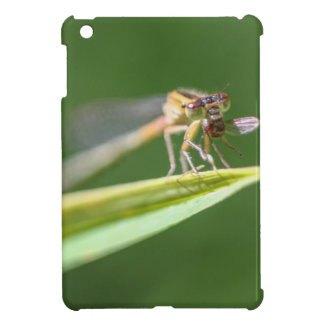Dragonfly Eating Mosquito iPad Mini Cover
