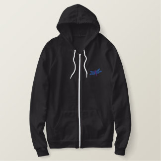 Dragonfly Embroidered Hoodie
