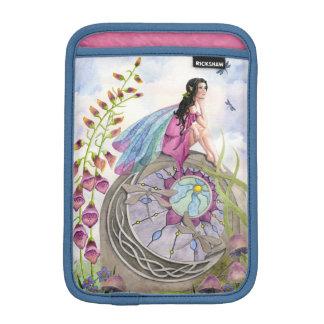 Dragonfly Fairy in the Garden iPad Mini Sleeve