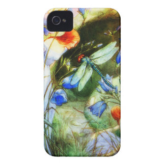 Dragonfly Fairy iPhone 4 Case-Mate Cases