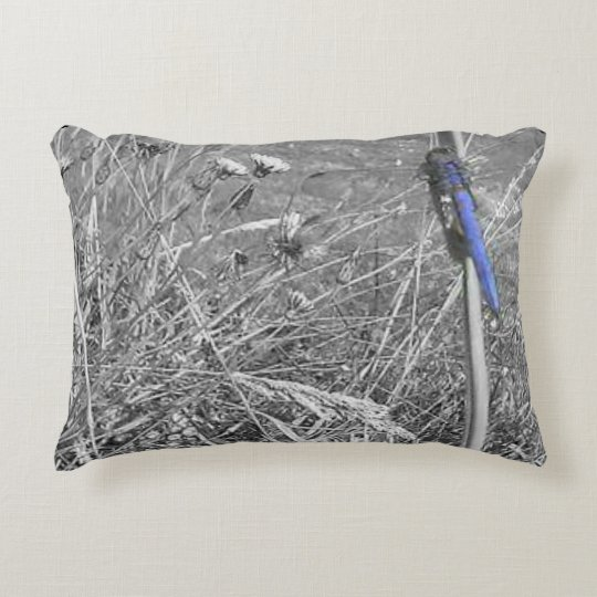 Dragonfly Field Accent Pillow