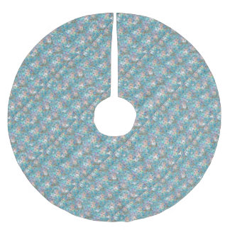Dragonfly Galaxy Brushed Polyester Tree Skirt