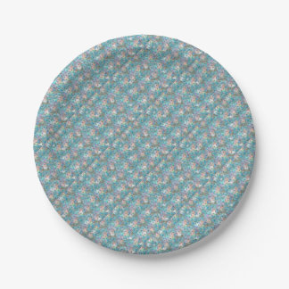 Dragonfly Galaxy Paper Plate