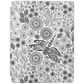 Dragonfly garden iPad cover