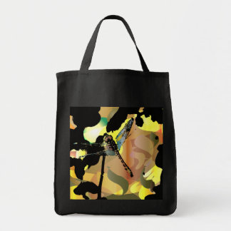 Dragonfly Gradient Tote Bag