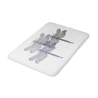 Dragonfly Greys Foam Mat Bathroom Mat