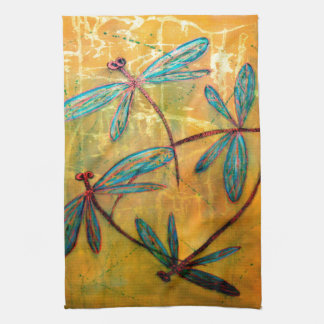 Dragonfly Haze Kitchen Towel