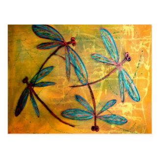 Dragonfly Haze Postcard