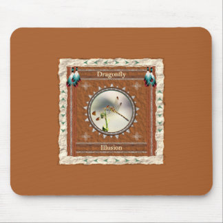 Dragonfly -Illusion- Mouse Pad