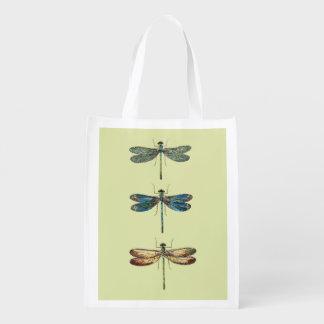 Dragonfly Illustrations Market Totes