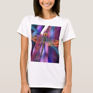 Dragonfly In Orange and Blue T-Shirt