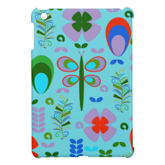 dragonfly in the garden iPad mini cover