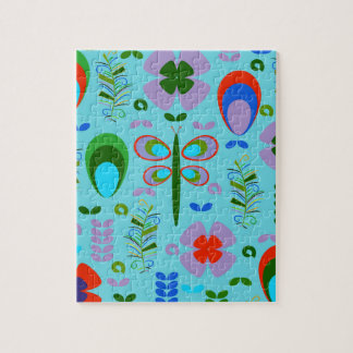 dragonfly in the garden jigsaw puzzle