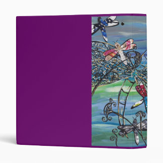 Dragonfly Jewels Binder