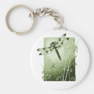 Dragonfly Key Chain (Sage)