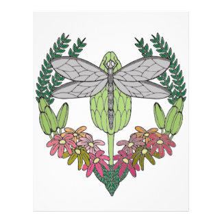 Dragonfly Letterhead