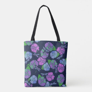 Dragonfly lover tote bag